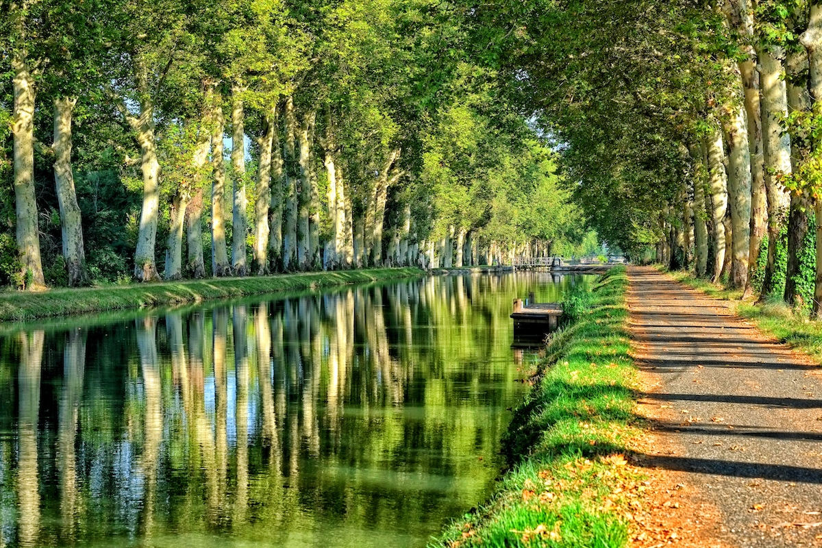 Canal de Garonne, an unmissable cycling itinerary in Lot-et-Garonne